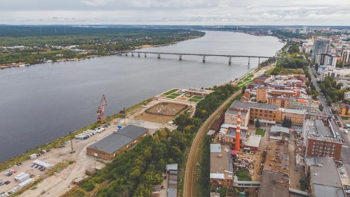 Новый мост через Каму хотят построить на улице Крисанова. Что из-за него могут снести и как соединят с правым берегом?