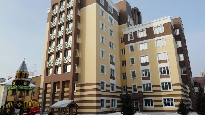 На Народной достроили жилой комплекс с огромной общей террасой на 7-м этаже