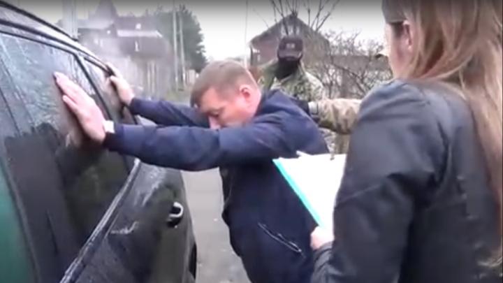 Видео дня: задержание замначальника УГИБДД по Нижегородской области