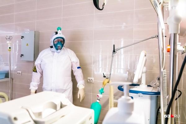 В регионе открывают новые COVID-госпитали