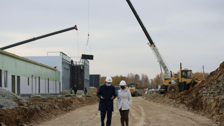 Текслер рассказал, сдвинут ли дату открытия новой инфекционной больницы под Челябинском