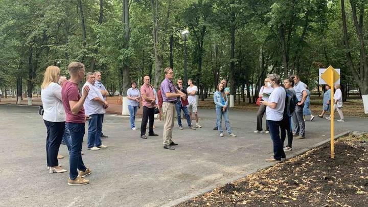 Самарцам показали, что построят в парке Гагарина
