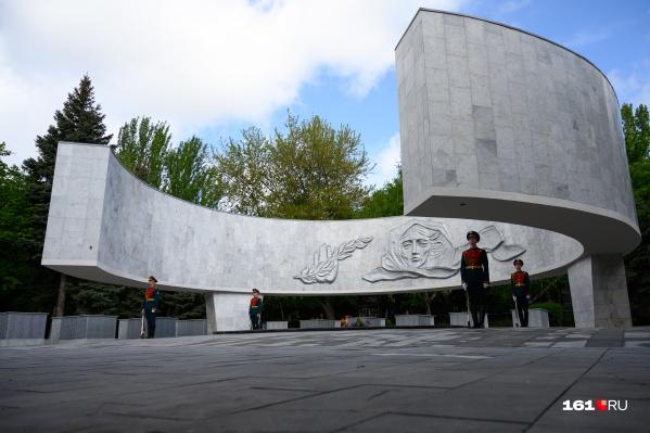 Горожане не смогли присоединиться к церемонии, как и сами ветераны