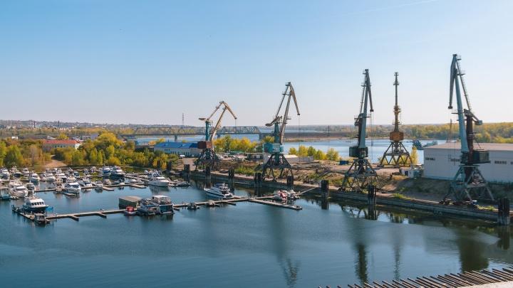 Грузовой речной порт хотят перенести из Самары в Октябрьск