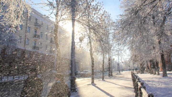 В Башкирии похолодает до —28°С