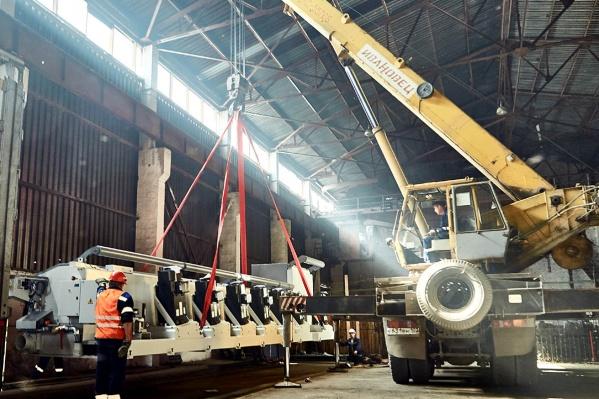 На волочильных машинахбудет производиться заготовка для канатной и пружинной проволоки