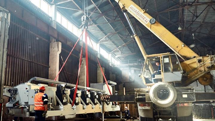 Белорецкий металлургический комбинат получил первую партию волочильных машин