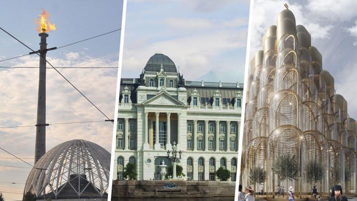 Город дворцов и одуванчиков: каким бы стал Екатеринбург, дай архитекторам волю