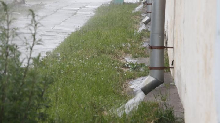 В Архангельске утром 8 июля прогнозируется сильный дождь и гроза