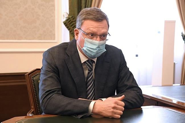 Губернатор Омской областиАлександр Бурков
