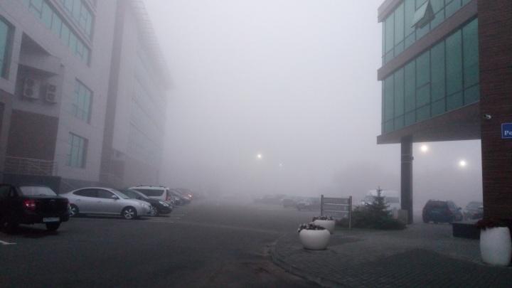В Челябинске второй день подряд задержали утренние авиарейсы из-за тумана