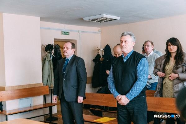 Вице-мэр Богдан Масан и бывший вице-губернатор Станислав Гребенщиков