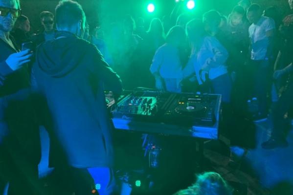 Ночные вечеринки на Плотинке привлекали молодежь