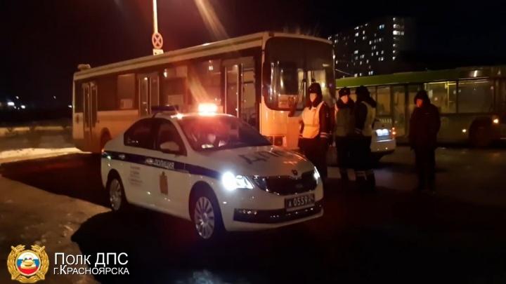 В Красноярске задержали водителя автобуса в наркотическом опьянении