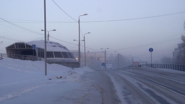 В последние выходные перед Новым годом в Омск придут тридцатиградусные морозы