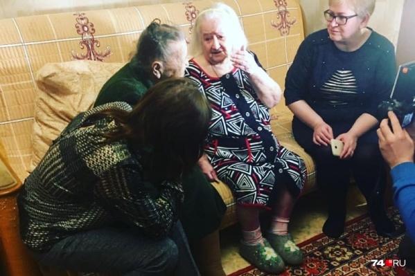 94-летняя Розалина и 92-летняя Юлия впервые встретились в Челябинске спустя 78 лет
