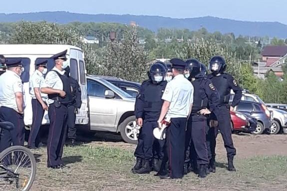 Жители Новокузнецкого района в июне 2020 года выступили против строительства углепогрузочной станции у поселка Черемза