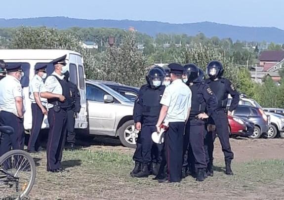 Разрез «Кузнецкий Южный» прокомментировал столкновение силовиков и протестующих у Черемзы
