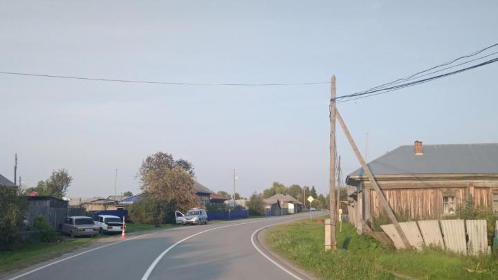 Пьяная автомобилистка сбила девочку в Тобольском районе. Затем бросила машину и ушла спать