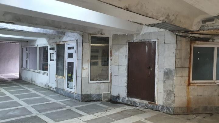 Из подземного перехода на площади Революции съехали все арендаторы