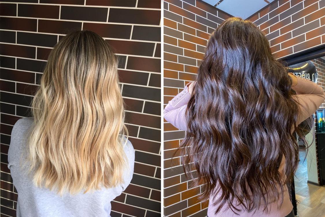 Оттенки могут быть абсолютно разными. Но не всем волосам нужно и подходит осветление