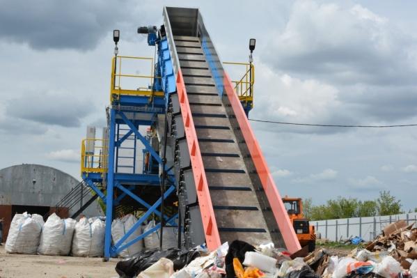 Оба комплекса смогут переработать до 120 тысяч тонн мусора