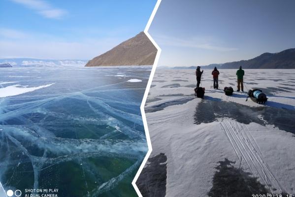 Конец зимы — самый подходящий сезон для путешествий по замерзшему Байкалу