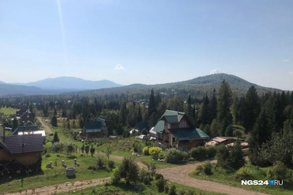 Члены общины живут в Курагинском районе рядом с озером Тиберкуль