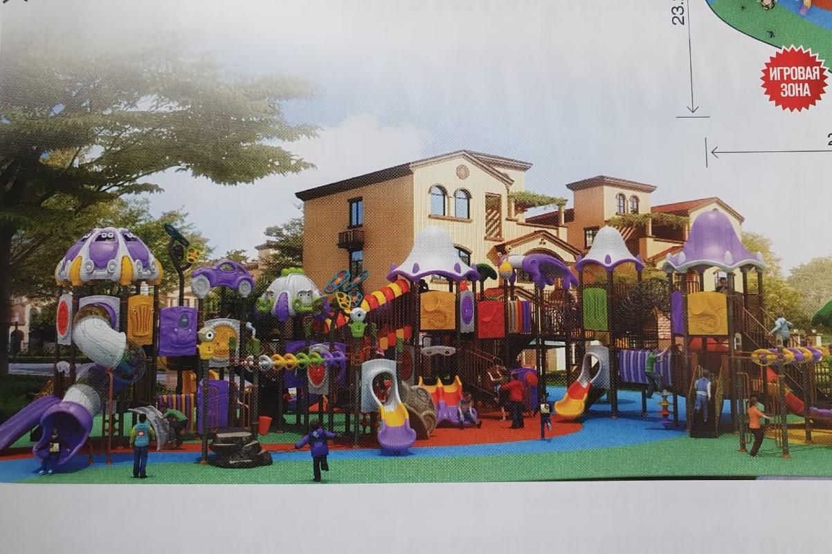 Для детей приготовят специальный городок