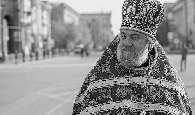 В ковидном госпитале Волгограда скончался настоятель Казанского собора Вячеслав Жебелев