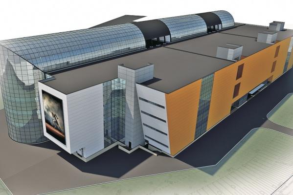 Площадь центра составит 55 тысяч кв. метров