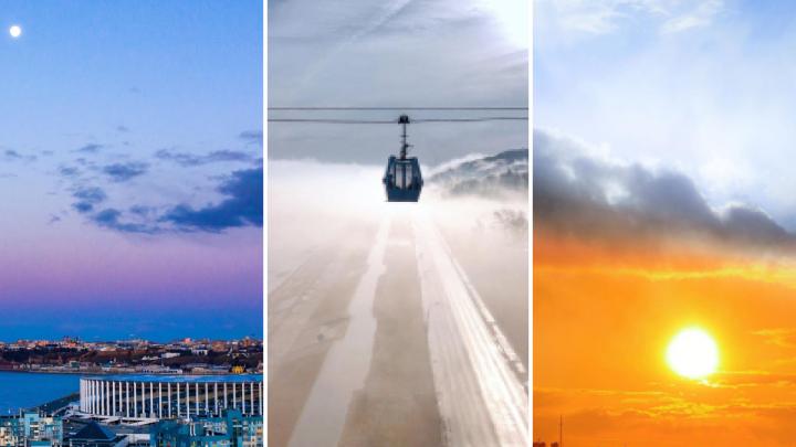 Лучшие фото этой недели: сказочные нижегородские закаты и «путешествие в туман»