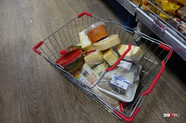 При выборе продуктов старайтесь делать выбор в сторону упакованных товаров