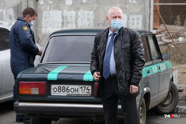 В суд Евгения Тефтелева привезли на машине ФСИН. Экс-глава города находится под домашним арестом