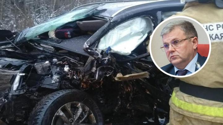 В ДТП погиб глава Ярославской областной думы