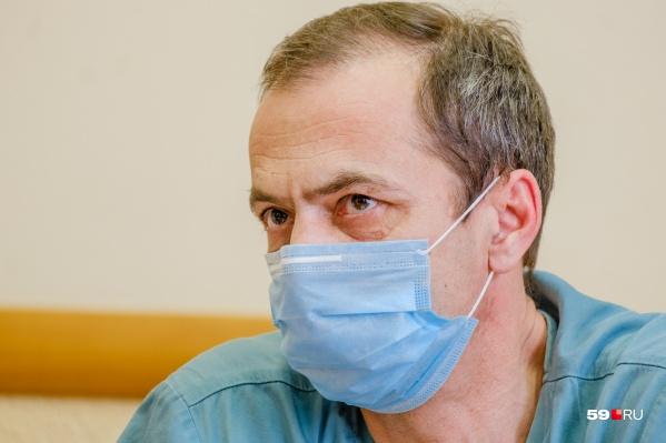 Анатолий Касатов возглавляет краевую клиническую больницу