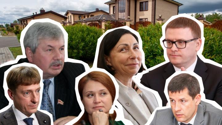 «Бездомные» и «помещики»: изучаем недвижимость чиновников Челябинской области и депутатов Заксобрания