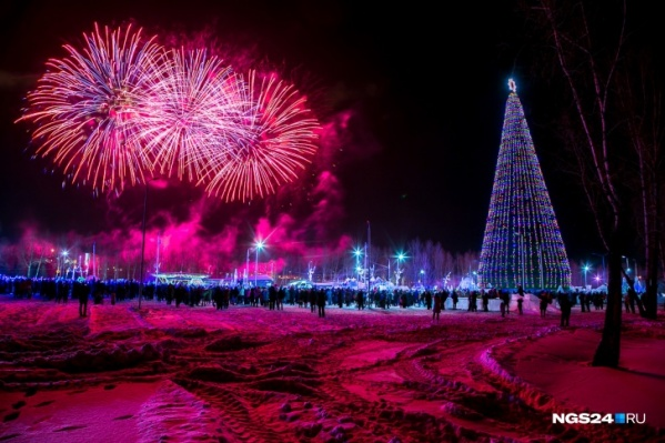 В этом году городские елки начнут работать без праздничных торжеств