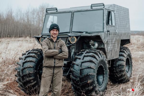 Сергей Гроховский рассказал, как бросил свою прежнюю работу ради сборки вездеходов