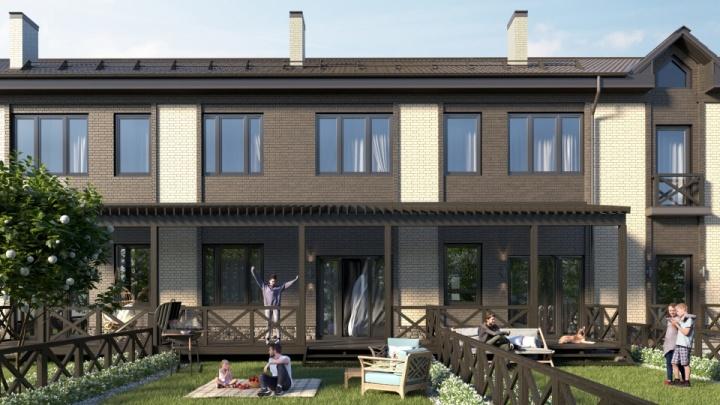 Люди бегут из города в коттеджные поселки, где можно купить огромный дом в ипотеку от 2,7%