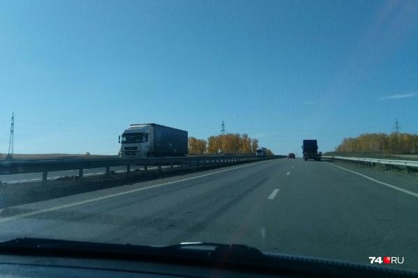 На расширение этого 11-километрового участка М-5 в Челябинской области у дорожников ушло почти семь лет