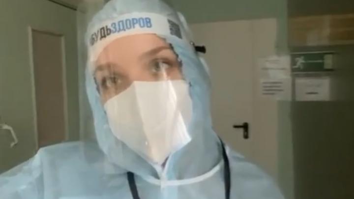 «Было тяжело»: ярославская студентка рассказала, как работает в красной зоне ковид-отделения