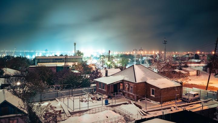 Снег и новые высотки в центре Ростова: события 17 ноября