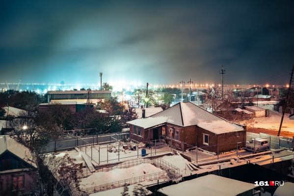 17 ноября в Ростове пошел первый снег
