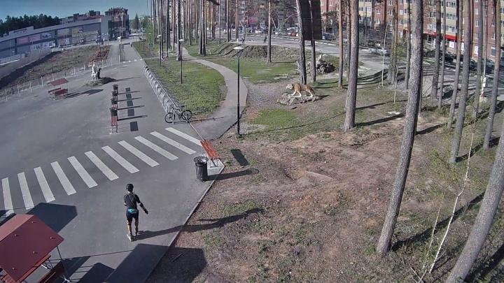 Под Екатеринбургом следователи ищут мужчину на роликах, насмерть сбившего 81-летнюю пенсионерку