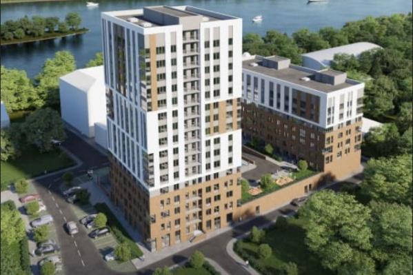 Два дома высотой в шестнадцать и восемь этажей планируется достроить к концу 2022 года