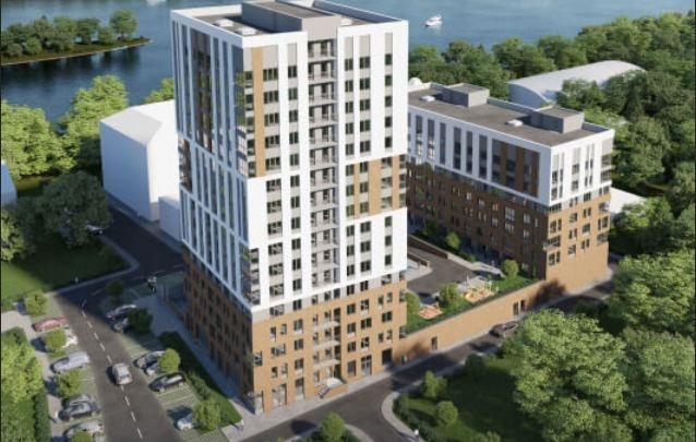 Что здесь строят: на берегу Иртыша возводят жилой комплекс бизнес-класса