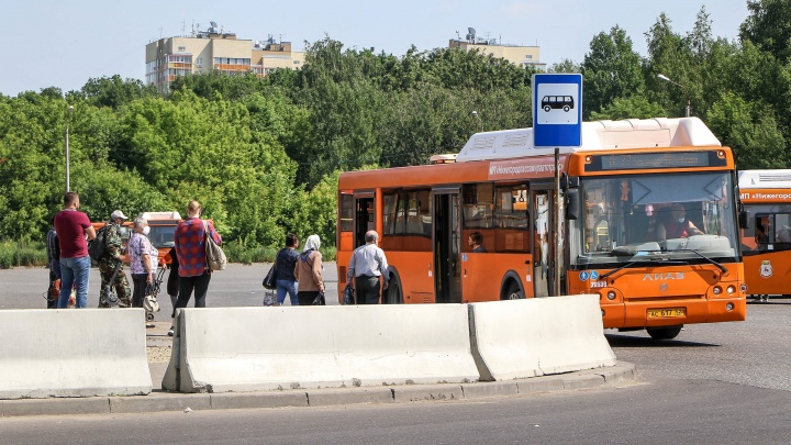 Из-за перекрытий в центре Нижнего Новгорода ряд автобусов будет курсировать по изменённым маршрутам
