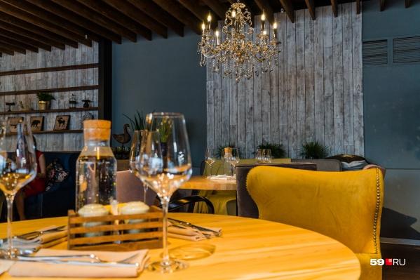 Гастрономические ужины проводят разные заведения Перми