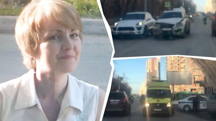 Родственники челябинки, насмерть сбитой Audi Q5 на Лесопарковой, ищут свидетелей аварии